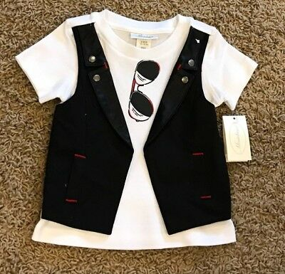 Miniclasix NEW NWT Boys Size 9 Months Top