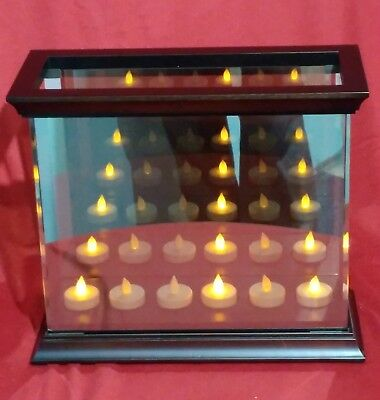 Partylite Infinite Reflections Mirrored Glass Candle Holder - Tealights Included