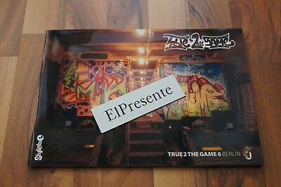 True 2 the Game issue 6 Graffiti Magazin Stylefile Berlin Trains Bombing Walls