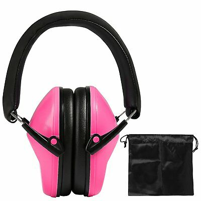 Toddlers Hearing Protection Ear Defenders For Kids Adjustable With Travel Bag UK