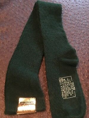 Vintage Over The Knees Turbo Hi Bulk Orlon Nylon Socks 9-12