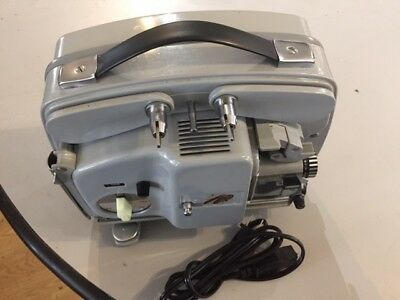 Bolex 18-5 Super 8 Projector with Halogen bulb update