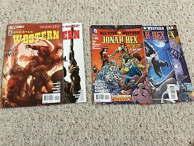 DC Comcs All-Star Western New 52 Issues 2 And 3, Plus Issues 20-22 (Jonah Hex)