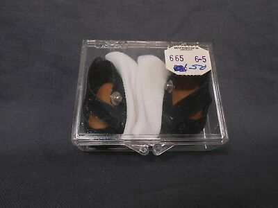 Vintage Madame Alexander Kins MINT Side Snap Shoes and Socks in Original Case