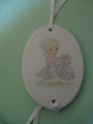 Precious Moments small trinket/with ribbon to attach to gift or basket