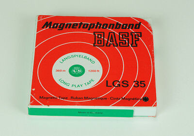 Tonbandspule, Tonband, Long Play Tape, LGS 35 BASF