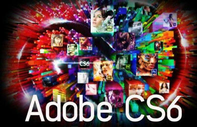 Adobe CS6 Master Collection / Creative Suite / WIN 32/64 / KEIN ABO / Keycard !