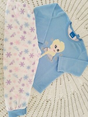 Disney Frozen Children Kinds Girls Pajamas Pijamas Set Size 2-3 Years
