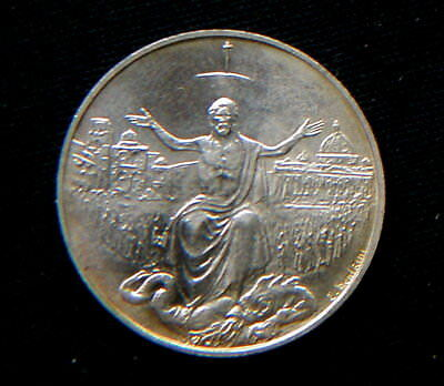 1983/4 Vatican silver coin John Paul II Holy YEAR 500 Lire UNC great QUALITY