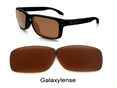 c3e262ad593 Galaxy Replacement Lenses For Oakley Holbrook Sunglasses Prizm Brown Color
