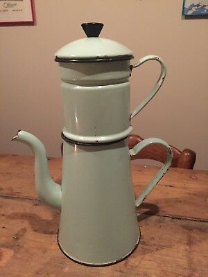 Vintage French Large Filter Coffee Pot