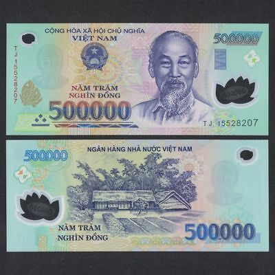 2 MILLION VIETNAMESE DONG CURRENCY (VND) - (4) 500,000 Notes - FAST DELIVERY