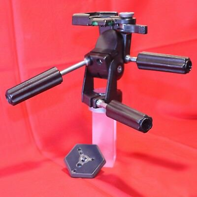 Vintage Bogen by Lino Manfrotto #3047 Professional Tripod Head Camera