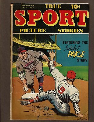 True Sport Picture Stories Volume 5 # 1 Vgf 5.0 Satchel Page Story Street Smith