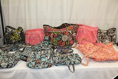 Lot of 12, Vera Bradley, Women's Purses, Bags, Messenger Bag For Craft.