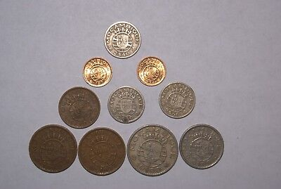 3 DIFFERENT 1 RUPEE COINS from SEYCHELLES (1982, 1997 & 2010)