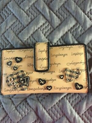 longaberger Wallet With Hearts