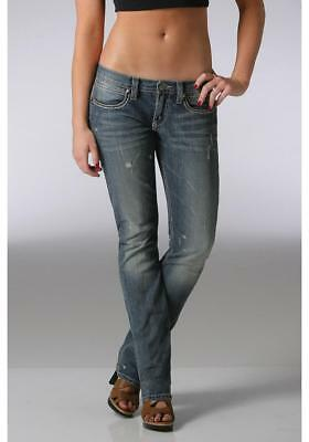 CLEARANCE Southern Thread Cinch Womens Bobbie Jeans Low Rise Slim Fit Skinny Leg
