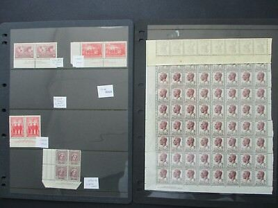 ESTATE: Australia Pre decimal Mint collection on pages heaps so much here (7428)