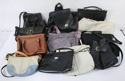 Lot of 12 Coach Bags Wholesale Mixed Jacquard Canvas Leather Tote Soho