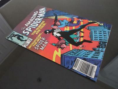 Amazing Spider-Man #252 - NEAR MINT 9.4 NM -Marvel 1984- Spidey dons black suit!