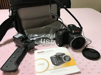 Kodak EasyShare Z980 12.0MP Digital Camera - Black
