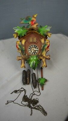 German black forest musical cuckoo clock colored case by regula project