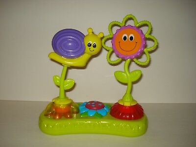 Evenflo Exersaucer Replacement Switch A Roo Tray Pod- Snail Rattle/flower Mirror