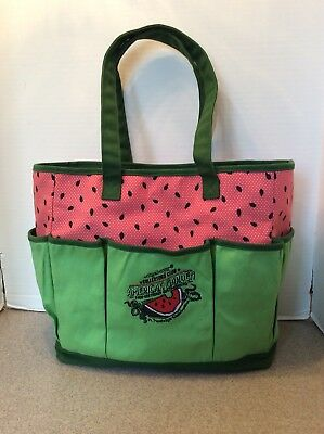 LONGABERGER Collectors Club Homestead Gathering American Garden Tote 2010