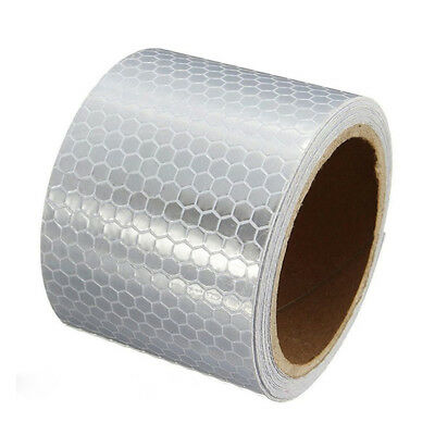 Car Reflective Safety Warning Roll Tape Self Adhesive Luminous Tape 3 Meters