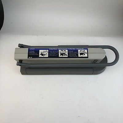 IBICO EB-19 Home/Office Plastic & Metal Binding System & Some Combs