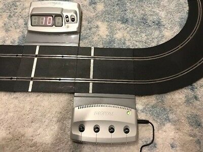 Digital Scalextric transformer and DGTL lap count C VGC! for slot car track 1/32