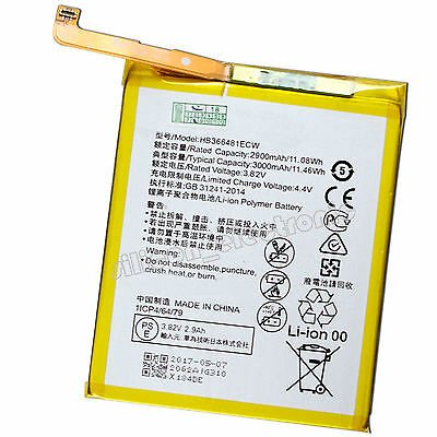3000mAh 3.82V Li-ion Battery For Huawei P9 Lite Honor 8 HB366481ECW Repair Part