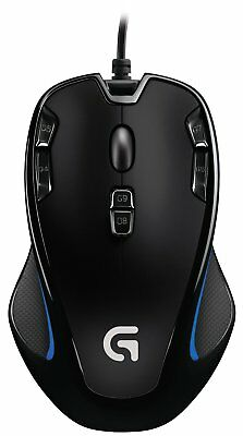 Logitech G300s Gaming Maus USB PC Computer Notebook Laptop Mouse Macro Tasten