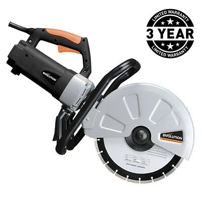 """15 Amp Portable Concrete Cut Off Saw Corded Power Tool 12"""" Blade Electric Cutoff"""