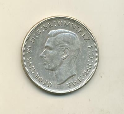 1937 Australia Crown Better Grade Ciirculated Coin