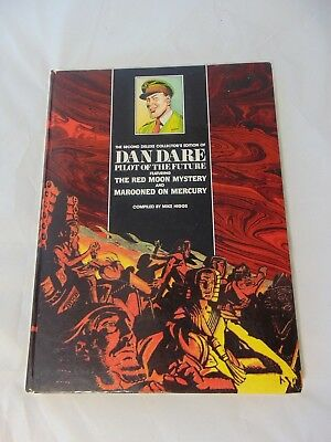 First Edition Dan Dare Red Moon Mystery Marooned On Mercury Comic Graphic Novel