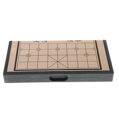 Chinese Chess Set Magnetic Foldable Board Game Chessboard Gift Small 20cm