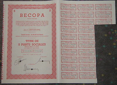 BECOPA Societe Anonyme 1971