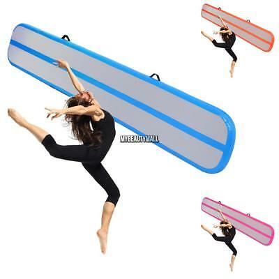 116FT Inflatable Air Track Tumbling Floor Gymnastics Practice Training Gym Mat