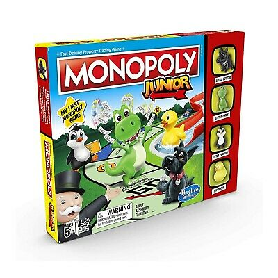 My First Monopoly Junior Board Game For All The Family NEW Sealed Box