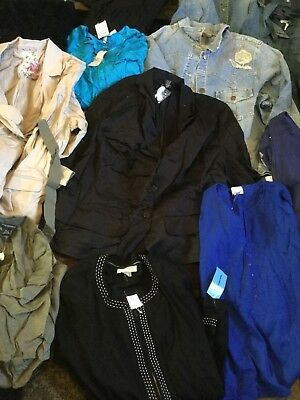 Plus Size Womens Clothing Lot Mixed Sizes And Pieces 36 Items Resale