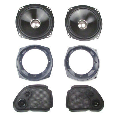 "J&M Audio Performance 7.25"" Speaker Kit 2006-2013 Harley-Davidson Road Glide"