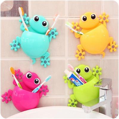 Cartoon Sucker Toothbrush Holder Wall Suction Hook Teeth Brush Holder HC