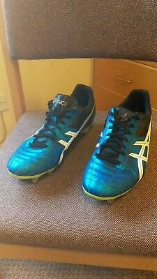 Used Asics Lethal Tackle Rugby Boots Uk Size 10