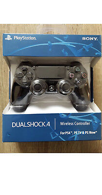 Official (Black) Sony Ps4 Playstation 4 Dualshock 4 Wireless Controller