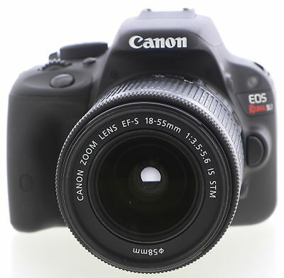 CANON EOS Rebel SL1 Black 18.0 EF-S 18-55mm Digital SLR Camera