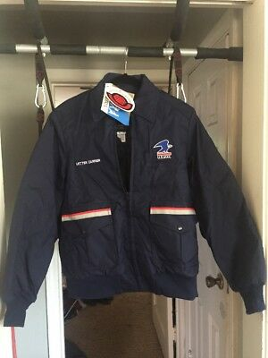 USPS Medium Letter Carrier Bomber Jacket w/Liner New With Tags US MAIL POSTAL