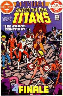 Tales of the Teen Titans Annual #3 in Near Mint - condition. FREE bag/board