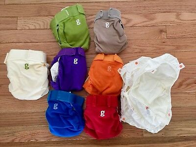 gDiaper Set Of 6 Size Medium With Extras